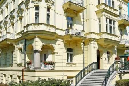 Чехия. Карловы вары. отель «Мignon»